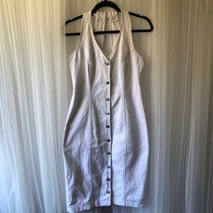 Women's California Concepts White Denim Dress